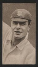 Tobacco Cigarette card cricket cricketers  Sussex #331